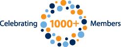 1000+ Members Logo